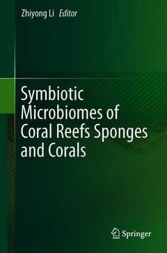 Cover of the book Symbiotic Microbiomes of Coral Reefs Sponges and Corals