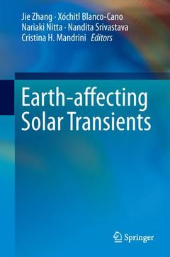 Cover of the book Earth-affecting Solar Transients