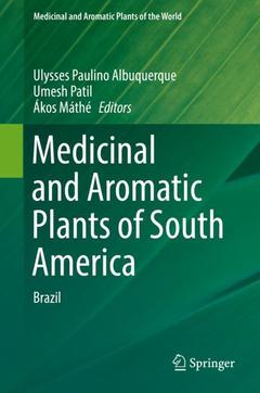 Couverture de l'ouvrage Medicinal and Aromatic Plants of South America