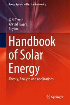 Couverture de l'ouvrage Handbook of Solar Energy
