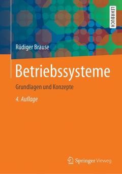 Cover of the book Betriebssysteme