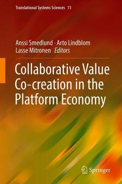 Cover of the book Collaborative Value Co-creation in the Platform Economy