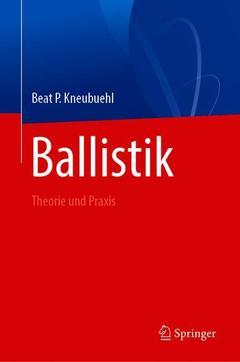 Couverture de l'ouvrage Ballistik