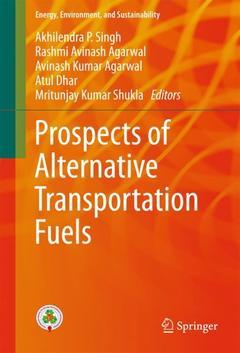 Couverture de l'ouvrage Prospects of Alternative Transportation Fuels