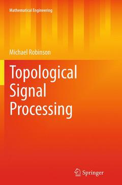 Couverture de l'ouvrage Topological Signal Processing