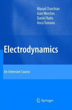 Couverture de l'ouvrage Electrodynamics