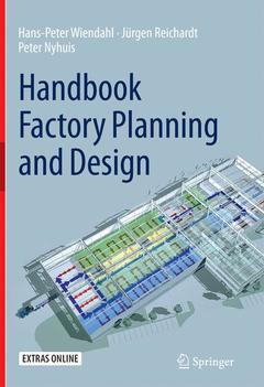 Couverture de l'ouvrage Handbook Factory Planning and Design