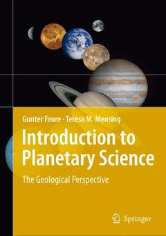 Cover of the book Introduction to planetary science