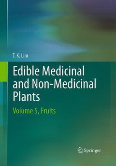 Couverture de l'ouvrage Edible Medicinal and Non-Medicinal Plants