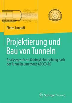 Couverture de l'ouvrage Projektierung und Bau von Tunneln