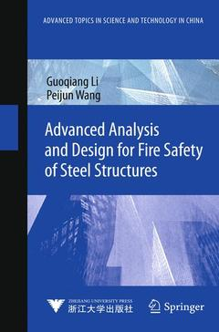 Cover of the book Advanced Analysis and Design for Fire Safety of Steel Structures