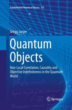 Couverture de l'ouvrage Quantum Objects