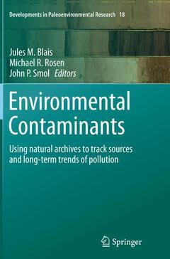 Couverture de l'ouvrage Environmental Contaminants