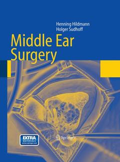 Couverture de l'ouvrage Middle ear surgery, (with DVD)