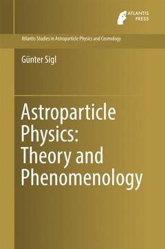 Cover of the book Astroparticle Physics: Theory and Phenomenology