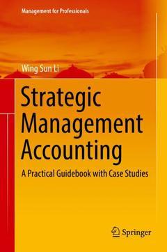Couverture de l'ouvrage Strategic Management Accounting