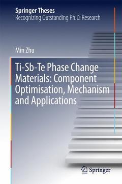Couverture de l'ouvrage Ti-Sb-Te Phase Change Materials: Component Optimisation, Mechanism and Applications