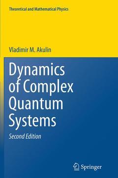 Couverture de l'ouvrage Dynamics of Complex Quantum Systems