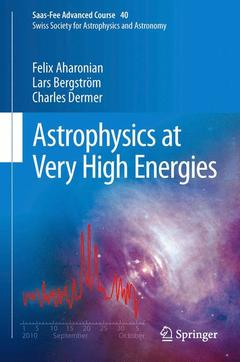 Couverture de l'ouvrage Astrophysics at Very High Energies