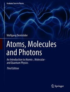 Cover of the book Atoms, Molecules and Photons