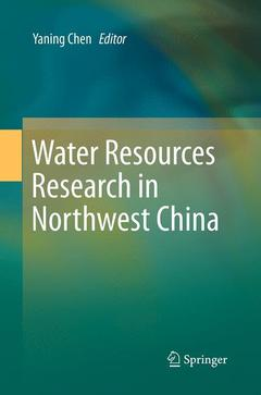 Cover of the book Water Resources Research in Northwest China