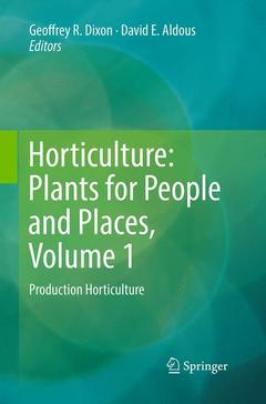 Cover of the book Horticulture: Plants for People and Places, Volume 1