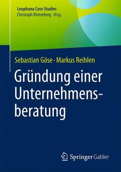 Couverture de l'ouvrage Gründung einer Unternehmensberatung