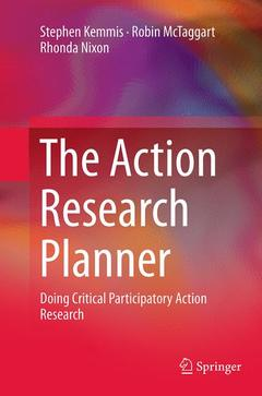 Couverture de l'ouvrage The Action Research Planner