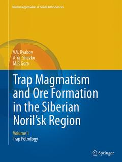 Cover of the book Trap magmatism and ore formation in the Siberian Noril'sk region