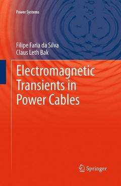Couverture de l'ouvrage Electromagnetic Transients in Power Cables