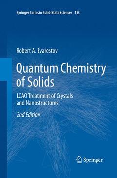 Couverture de l'ouvrage Quantum Chemistry of Solids