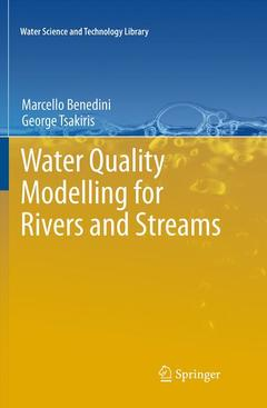 Couverture de l'ouvrage Water quality modelling for rivers and streams