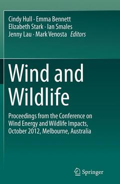 Couverture de l'ouvrage Wind and Wildlife