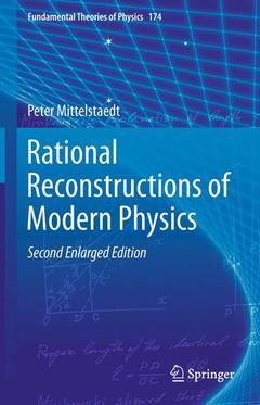 Couverture de l'ouvrage Rational reconstructions of modern physics