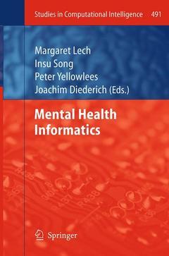 Couverture de l'ouvrage Mental Health Informatics