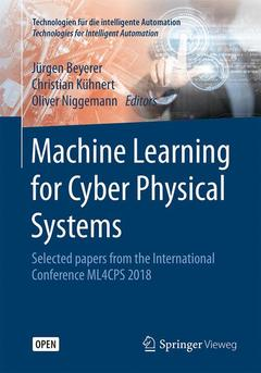 Cover of the book Machine Learning for Cyber Physical Systems