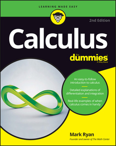 Couverture de l'ouvrage Calculus For Dummies