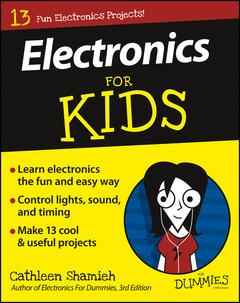 Couverture de l'ouvrage Electronics For Kids For Dummies