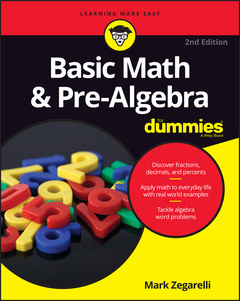 Couverture de l'ouvrage Basic Math and Pre-Algebra For Dummies