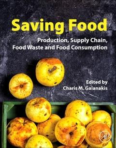 Couverture de l'ouvrage Saving Food