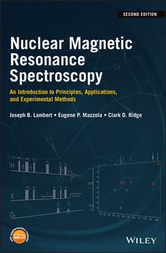 Couverture de l'ouvrage Nuclear Magnetic Resonance Spectroscopy