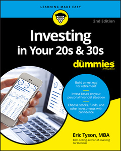 Cover of the book Investing in Your 20s and 30s For Dummies