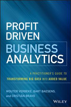 Couverture de l'ouvrage Profit Driven Business Analytics