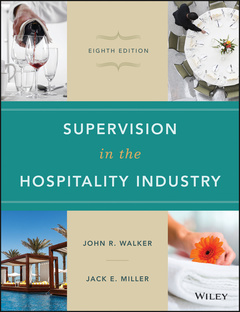 Couverture de l'ouvrage Supervision in the Hospitality Industry