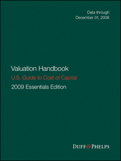 Cover of the book Valuation Handbook - U.S. Guide to Cost of Capital