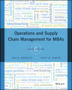 Couverture de l'ouvrage Operations and Supply Chain Management for MBAs