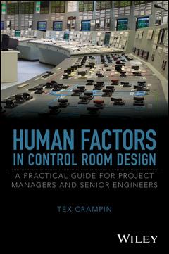 Couverture de l'ouvrage Human Factors in Control Room Design