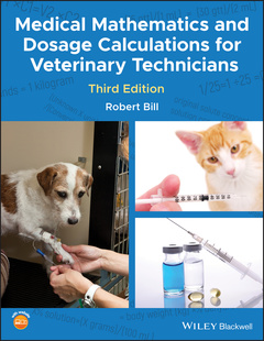 Cover of the book Medical Mathematics and Dosage Calculations for Veterinary Technicians