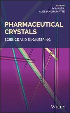 Couverture de l'ouvrage Pharmaceutical Crystals