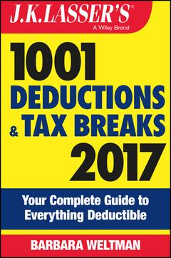 Couverture de l'ouvrage J.K. Lasser′s 1001 Deductions and Tax Breaks 2017